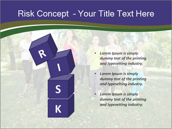 Runners PowerPoint Template - Slide 81