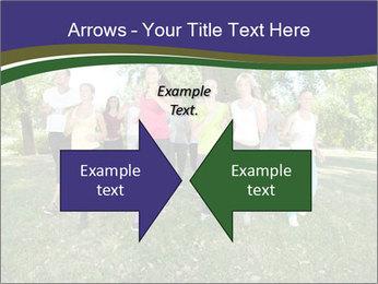 Runners PowerPoint Template - Slide 90