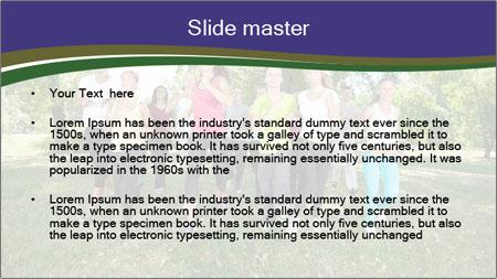 Runners PowerPoint Template - Slide 2