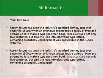 Aslot-canyon PowerPoint Template - Slide 2