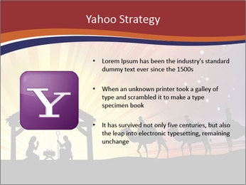 Christmas Nativity scene PowerPoint Templates - Slide 11