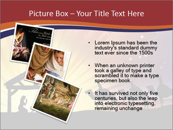 Christmas Nativity scene PowerPoint Templates - Slide 17