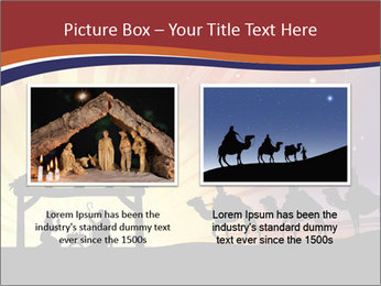 Christmas Nativity scene PowerPoint Templates - Slide 18