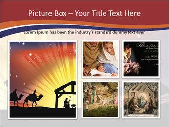 Christmas Nativity scene PowerPoint Templates - Slide 19