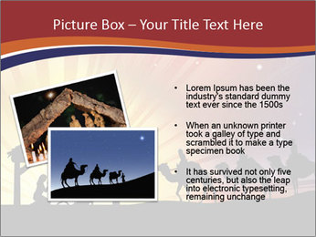 Christmas Nativity scene PowerPoint Templates - Slide 20