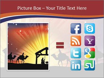 Christmas Nativity scene PowerPoint Templates - Slide 21