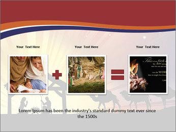 Christmas Nativity scene PowerPoint Templates - Slide 22