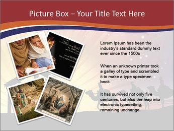 Christmas Nativity scene PowerPoint Templates - Slide 23