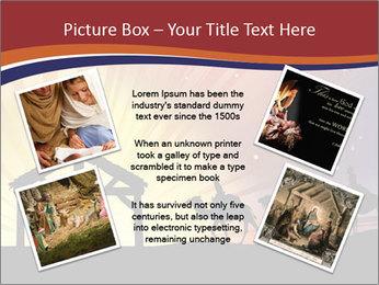 Christmas Nativity scene PowerPoint Templates - Slide 24