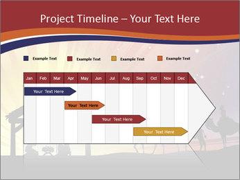 Christmas Nativity scene PowerPoint Templates - Slide 25