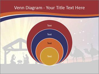 Christmas Nativity scene PowerPoint Templates - Slide 34