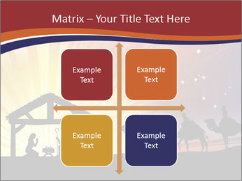 Christmas Nativity scene PowerPoint Templates - Slide 37