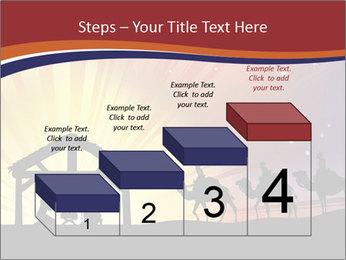 Christmas Nativity scene PowerPoint Templates - Slide 64