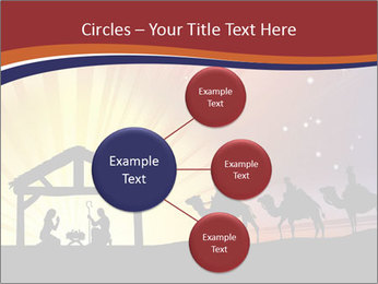 Christmas Nativity scene PowerPoint Templates - Slide 79