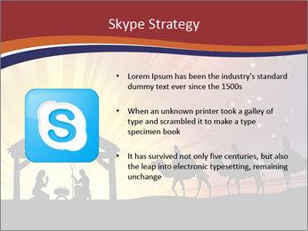 Christmas Nativity scene PowerPoint Templates - Slide 8