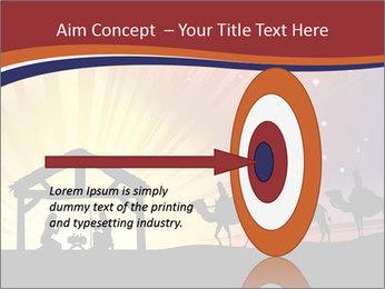 Christmas Nativity scene PowerPoint Templates - Slide 83