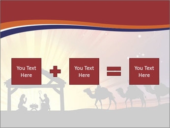 Christmas Nativity scene PowerPoint Templates - Slide 95