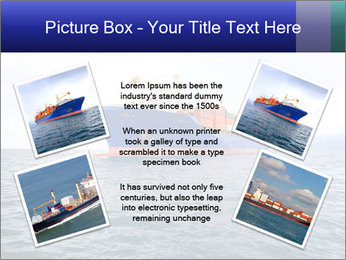 Commercial container ship PowerPoint Template - Slide 24