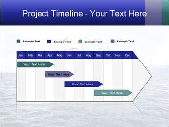 Commercial container ship PowerPoint Template - Slide 25