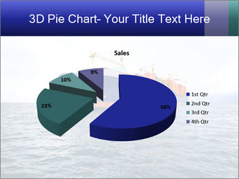 Commercial container ship PowerPoint Template - Slide 35