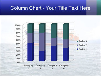 Commercial container ship PowerPoint Template - Slide 50