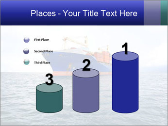 Commercial container ship PowerPoint Template - Slide 65