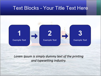 Commercial container ship PowerPoint Template - Slide 71
