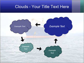 Commercial container ship PowerPoint Template - Slide 72