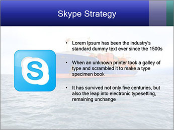 Commercial container ship PowerPoint Template - Slide 8