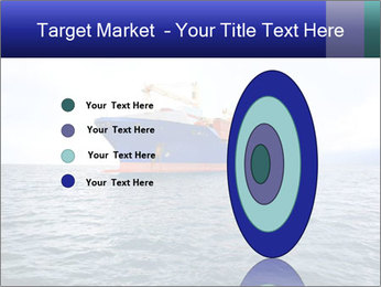 Commercial container ship PowerPoint Template - Slide 84