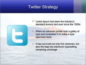 Commercial container ship PowerPoint Template - Slide 9