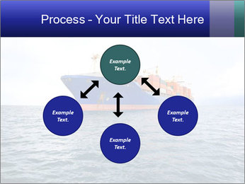 Commercial container ship PowerPoint Template - Slide 91