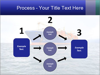 Commercial container ship PowerPoint Template - Slide 92