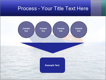 Commercial container ship PowerPoint Template - Slide 93