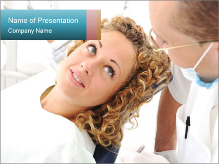 Dentist's office PowerPoint Template