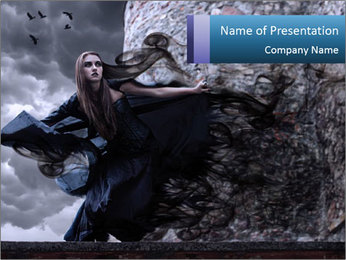 Witch PowerPoint Template - Slide 1