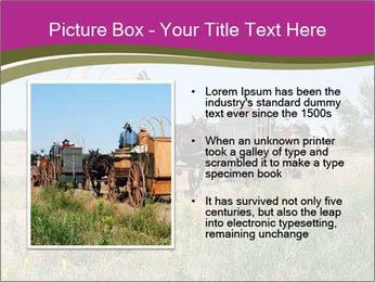 Kansas Cattle Drive Chuck PowerPoint Template - Slide 13