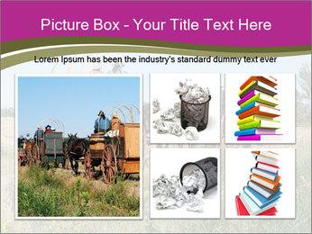 Kansas Cattle Drive Chuck PowerPoint Template - Slide 19
