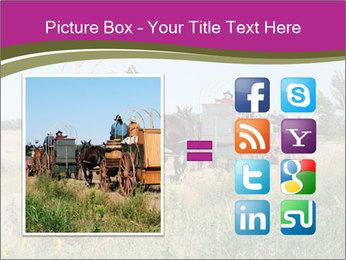 Kansas Cattle Drive Chuck PowerPoint Template - Slide 21