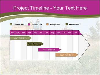 Kansas Cattle Drive Chuck PowerPoint Template - Slide 25