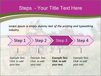 Kansas Cattle Drive Chuck PowerPoint Template - Slide 4