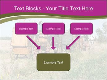 Kansas Cattle Drive Chuck PowerPoint Template - Slide 70