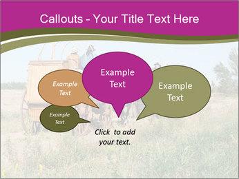 Kansas Cattle Drive Chuck PowerPoint Template - Slide 73