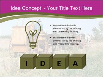 Kansas Cattle Drive Chuck PowerPoint Template - Slide 80