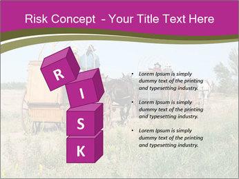 Kansas Cattle Drive Chuck PowerPoint Template - Slide 81