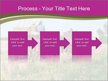 Kansas Cattle Drive Chuck PowerPoint Template - Slide 88