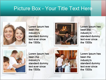 Photo of pretty woman PowerPoint Template - Slide 14