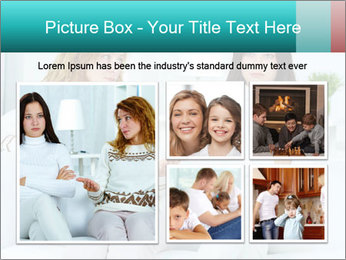 Photo of pretty woman PowerPoint Template - Slide 19