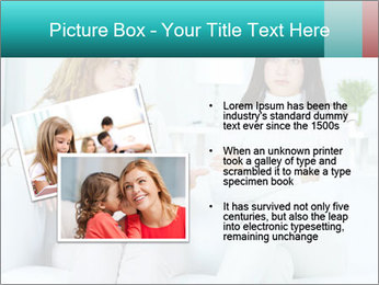 Photo of pretty woman PowerPoint Template - Slide 20