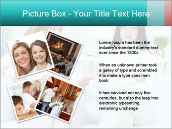 Photo of pretty woman PowerPoint Template - Slide 23